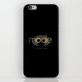Edna Mode Fashion Dark Gold iPhone Skin