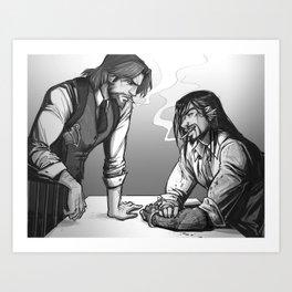 Cops & Crooks Art Print