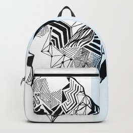 Blue Iceberg Backpack