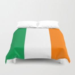 Flag of Ireland Duvet Cover