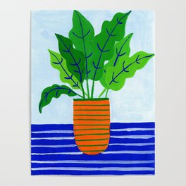 Potted plant I Poster