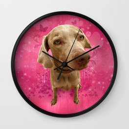 PARKER POSEY (strawberry) puffy cloud series Wall Clock