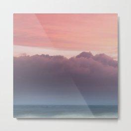 Pale Sunset Metal Print