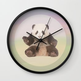 Save the Giant Panda - Endangered Species 5 Wall Clock