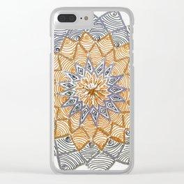 Rangoli 3 Clear iPhone Case