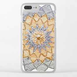 Rangoli 3 Clear iPhone Case