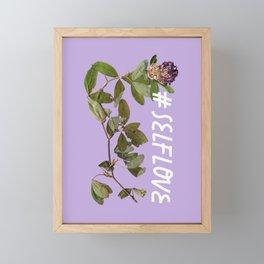 love yourself Framed Mini Art Print
