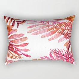 Red Nature Rectangular Pillow