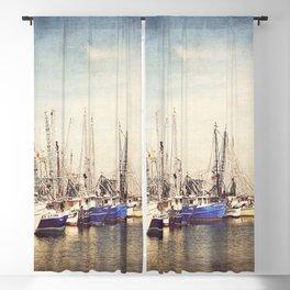 Gulf Coast Shrimp Boats Blackout Curtain