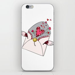 Letter for Love iPhone Skin