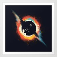 ed sheeran Art Prints featuring Void (introversive ed) by Picomodi
