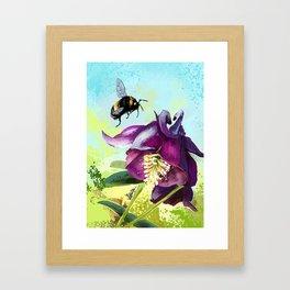 Bee flying 14 Framed Art Print