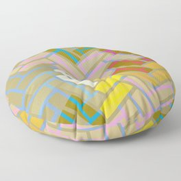 Fill In The Blank Colors Floor Pillow