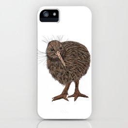 Charming Kiwi bird iPhone Case