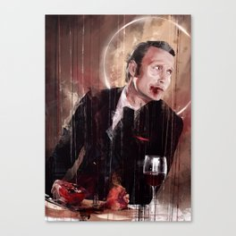Fun times - blood Canvas Print