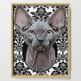 Sphynx Cat Serving Tray