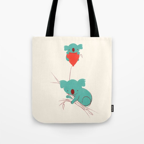 Red Balloon Tote Bag