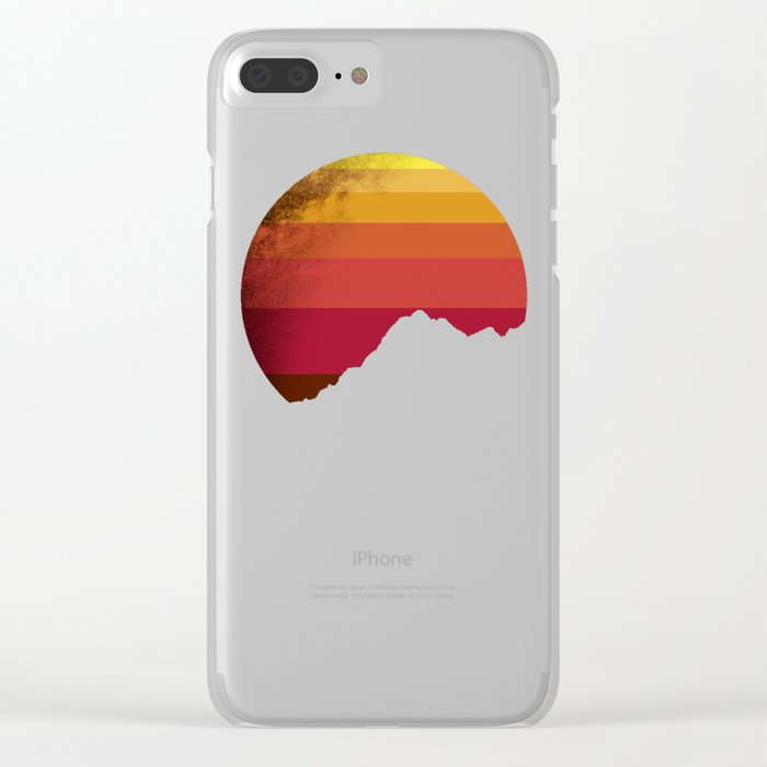 sandstorm Clear iPhone Case