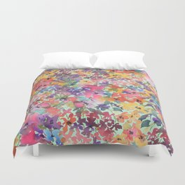 Prairie Wildflowers Duvet Cover