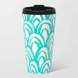 Minty Scales of the Sea Travel Mug
