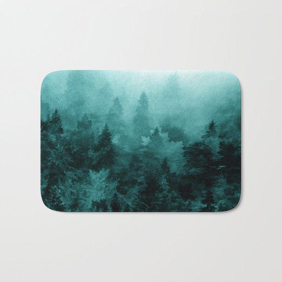 Fractal Forest Bath Mat
