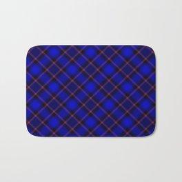 Scottish Fabric Blue Bath Mat