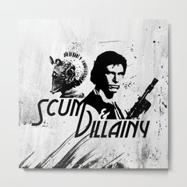 Scum & Villainy Metal Print