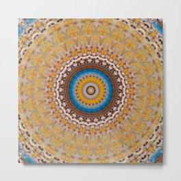 New Color Pyramidal Mandala 51 Metal Print