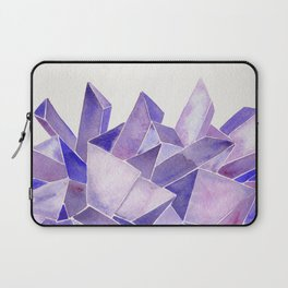Amethyst Watercolor Laptop Sleeve