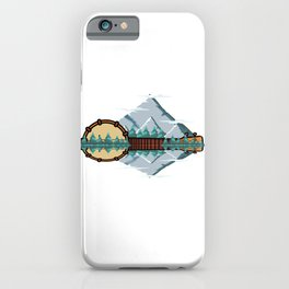 Bluegrass Banjo Player Or Musician Gift iPhone Case