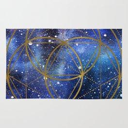 Space mandala Rug