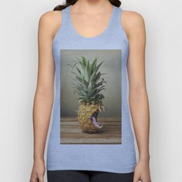 Pineapple is hungry Unisex Tank Top