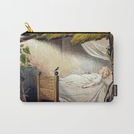 """""""A Ray of Sun Peeks Through"""" by Eleanor Vere Boyle Carry-All Pouch"""