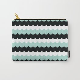 MINTY WAVES Carry-All Pouch