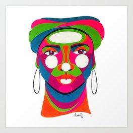 Palenquera es color Art Print