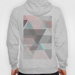triangle abstract background Hoody