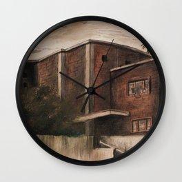 Inland Empire Drawing 3 Wall Clock