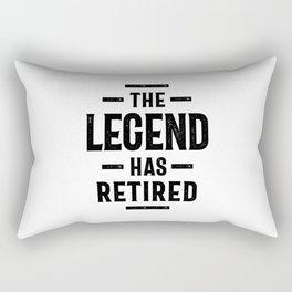 The Legend Has Retired - Retirement Gift Rectangular Pillow