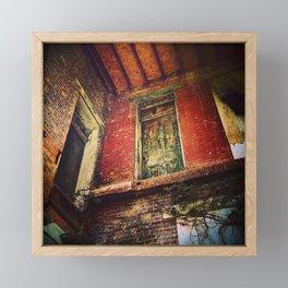 Fall Through Framed Mini Art Print