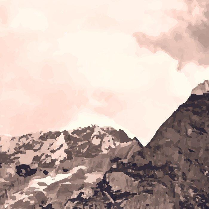 Pink Mountain Leggings