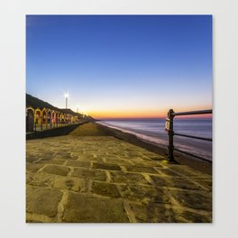 Saltburn in the evening light Canvas Print