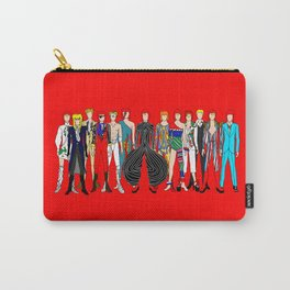 Starman on Red Carry-All Pouch