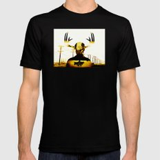 The King in Yellow - True Detective Mens Fitted Tee Black MEDIUM