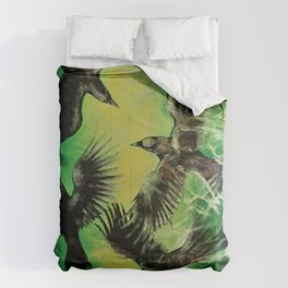 A Murder of Crows Comforters