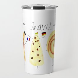 eat and travel Travel Mug