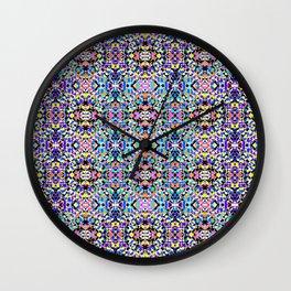 Techno Tribal Wall Clock