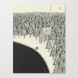 'Isolation' (B&W) Canvas Print