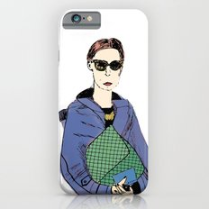 Bag Lady Blue Slim Case iPhone 6s