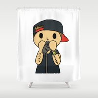 liam payne Shower Curtains featuring Liam by clevernessofyou