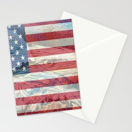 """ USA Strong "" Stationery Cards"